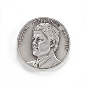 view William Jefferson Clinton Inaugural Medal digital asset number 1