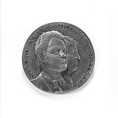 view William Jefferson Clinton & Albert Gore Second Inaugural Medal digital asset number 1