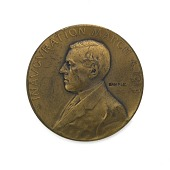 view Woodrow Wilson Inaugural Medal digital asset number 1