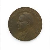 view Herbert Hoover Inaugural Medal digital asset number 1