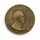 view Franklin Delano Roosevelt Inaugural Medal digital asset number 1
