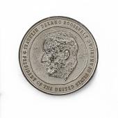 view Franklin Delano Roosevelt Third Inaugural Medal digital asset number 1
