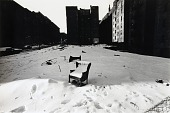view Untitled (Chair in the snow, Manhattan Valley, New York) digital asset number 1