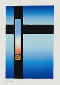view Ojo de la Cruz-Azul (Eye of the Cross-Blue) digital asset number 1