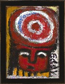 view Untitled (Figure with Target) digital asset number 1