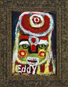 view Untitled (Figure with Green Face and Bared Teeth) digital asset number 1