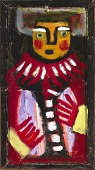 view Untitled (Figure with White Eyebrows) digital asset number 1