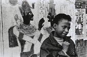 view Girl with Egyptian Painting, New York digital asset number 1