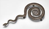 view Untitled (Snake Trivet) digital asset number 1