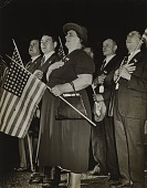view Pledging Allegiance to the Flag in South Bend, Indiana digital asset number 1