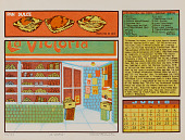 view La Victoria (June), from Calendario de Comida 1976 digital asset number 1