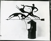 view Chimney pot and weather vane [decorative arts] / (photographed by Peter A. Juley & Son) digital asset number 1