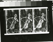 view Triplicate of Raya Garbousova portrait [photograph] / (photographed by Peter A. Juley & Son) digital asset number 1