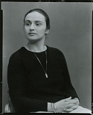 view Barbara Adrian [photograph] / (photographed by Peter A. Juley & Son) digital asset number 1
