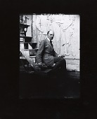 view Daniel Chester French in his studio [photograph] / (photographed by Peter A. Juley & Son) digital asset number 1