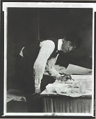 """view John Marin at work at """"291"""" [photograph] / (photographed by Peter A. Juley & Son) digital asset number 1"""
