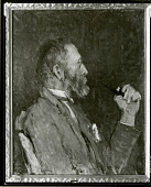 view Port. Sketch of W.L.Lathrop [painting] / (photographed by Peter A. Juley & Son) digital asset number 1