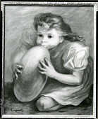 view Child Blowing Balloon [painting] / (photographed by Peter A. Juley & Son) digital asset number 1
