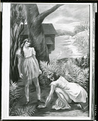 view Children Burying a Dead Bird [painting] / (photographed by Peter A. Juley & Son) digital asset number 1