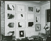 view View of art works in Robert Motherwell's Studio [photograph] / (photographed by Peter A. Juley & Son) digital asset number 1