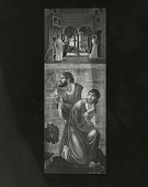 view Altarpiece for St. Mark's Church, Mt. Kisco, New York (right panel) [painting] / (photographed by Peter A. Juley & Son) digital asset number 1