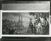 view Study for Arrival at Westport Landing [painting] / (photographed by Peter A. Juley & Son) digital asset number 1