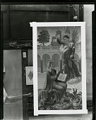 view Altarpiece for St. Paul's Chapel, St. Paul's Church, New Haven, Connecticut (left panel) [painting] / (photographed by Peter A. Juley & Son) digital asset number 1