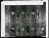 view Altarpiece for St. Martin's Episcopal Church, Providence, Rhode Island (door panel) [painting] / (photographed by Peter A. Juley & Son) digital asset number 1