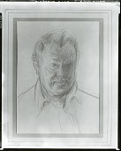 view Self Portrait [drawing] / (photographed by Peter A. Juley & Son) digital asset number 1