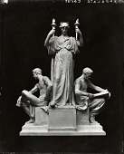 view Model for Justice, Power, and Study [sculpture] / (photographed by Peter A. Juley & Son) digital asset number 1
