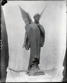 view Draped Angel [sculpture] / (photographed by Peter A. Juley & Son) digital asset number 1