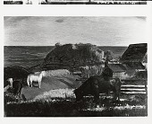 view Horses and Cows [painting] / (photographed by Peter A. Juley & Son) digital asset number 1