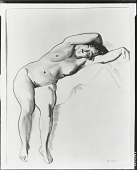 view Nude [drawing] / (photographed by Peter A. Juley & Son) digital asset number 1