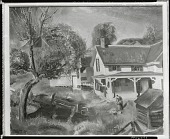 view Jim Twadell's Place [painting] / (photographed by Peter A. Juley & Son) digital asset number 1