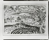 view Woodstock Road, Woodstock, New York [drawing] / (photographed by Peter A. Juley & Son) digital asset number 1