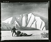 view Sledging, Greenland [painting] / (photographed by Peter A. Juley & Son) digital asset number 1