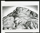 view Mountain at the Foot of Fognano [drawing] / (photographed by Peter A. Juley & Son) digital asset number 1
