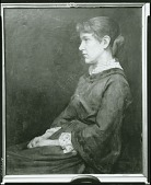 view Gertrude Eleanor Du Puy [painting] / (photographed by Peter A. Juley & Son) digital asset number 1