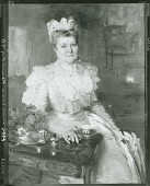 view Mrs. Thomas A. Scott (Anna Riddle) [painting] / (photographed by Peter A. Juley & Son) digital asset number 1