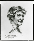view Hoffman, Malvina [drawing] / (photographed by Peter A. Juley & Son) digital asset number 1