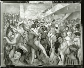 view New Year's Eve at Webster Hall [painting] / (photographed by Peter A. Juley & Son) digital asset number 1