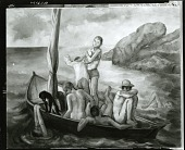 view Boys in Boat [painting] / (photographed by Peter A. Juley & Son) digital asset number 1