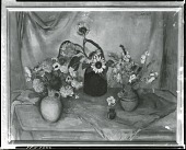 view Flower Arrangement [painting] / (photographed by Peter A. Juley & Son) digital asset number 1