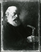 view Old Man with Cane [art work] / (photographed by Peter A. Juley & Son) digital asset number 1