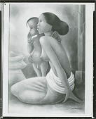 view Mother and Child [art work] / (photographed by Peter A. Juley & Son) digital asset number 1
