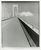 view Whitestone Bridge [painting] / (photographed by Peter A. Juley & Son) digital asset number 1