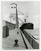 view Public Grain Elevator in New Orleans [painting] / (photographed by Peter A. Juley & Son) digital asset number 1