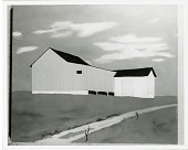 view White Barn [painting] / (photographed by Peter A. Juley & Son) digital asset number 1