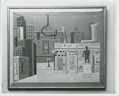 view Barber Shop [painting] / (photographed by Peter A. Juley & Son) digital asset number 1