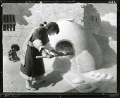 view The Breadmaker [painting] / (photographed by Peter A. Juley & Son) digital asset number 1